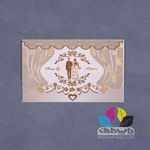 کارت عروسی کد 669 - چاپخانه ماهان