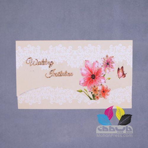 کارت عروسی کد 108 - چاپخانه ماهان