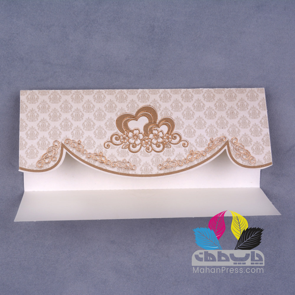 کارت عروسی کد 622 - چاپخانه ماهان