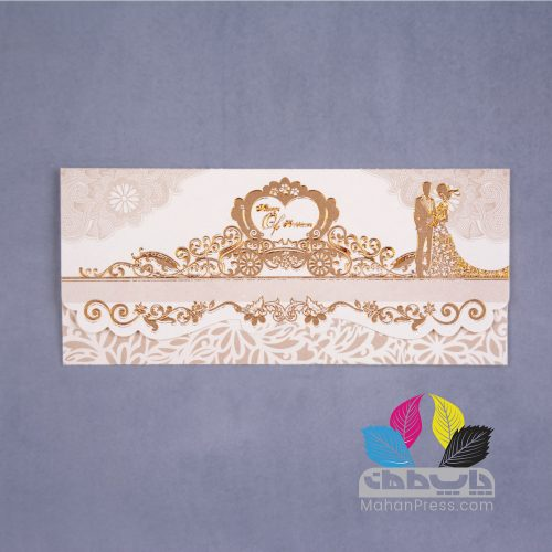 کارت عروسی کد 667 - چاپخانه ماهان