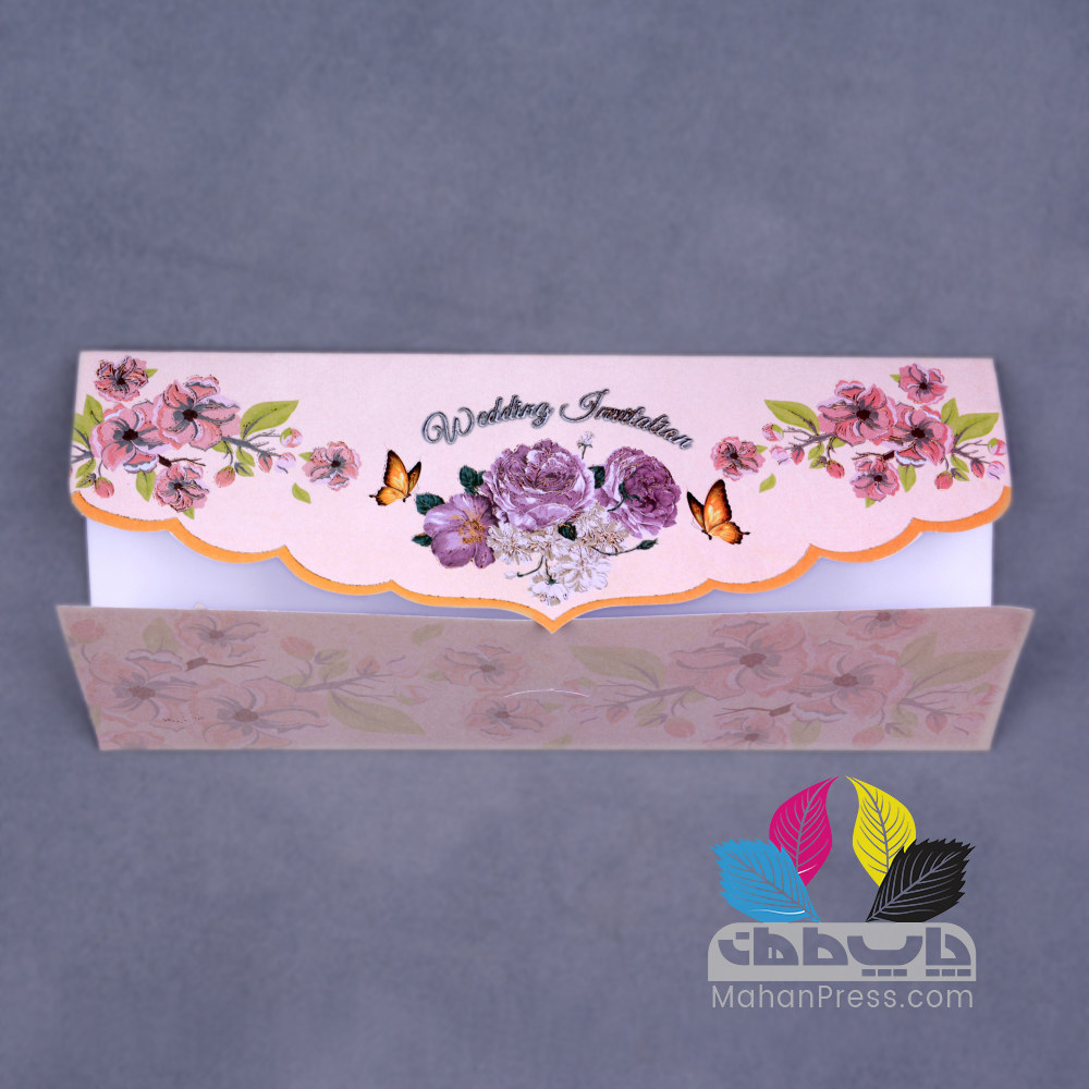 کارت عروسی کد 127 - چاپخانه ماهان