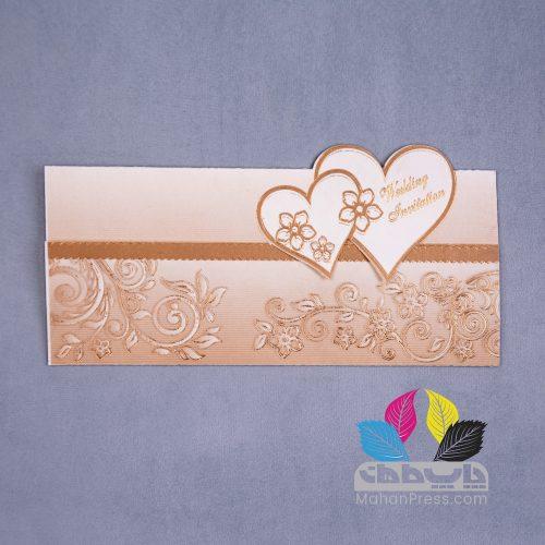 کارت عروسی کد 446 - چاپخانه ماهان
