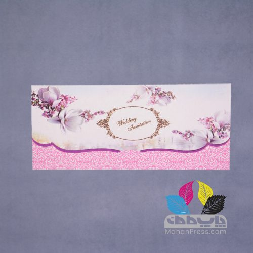 کارت عروسی کد 784 - چاپخانه ماهان
