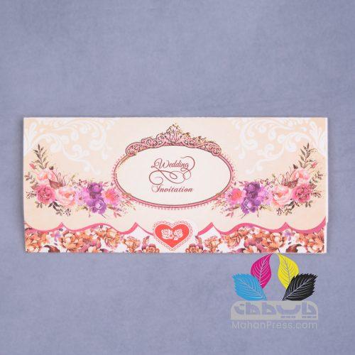 کارت عروسی کد 754 - چاپخانه ماهان