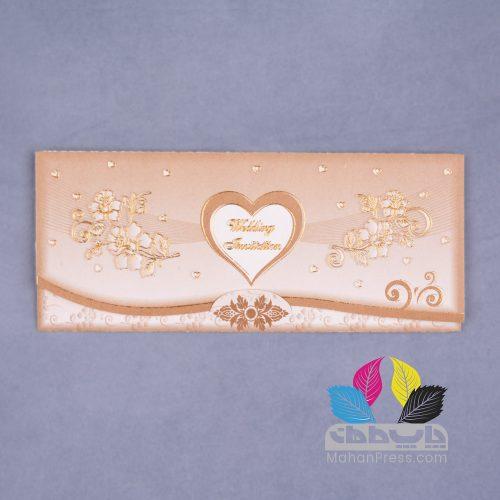 کارت عروسی کد 448 - چاپخانه ماهان