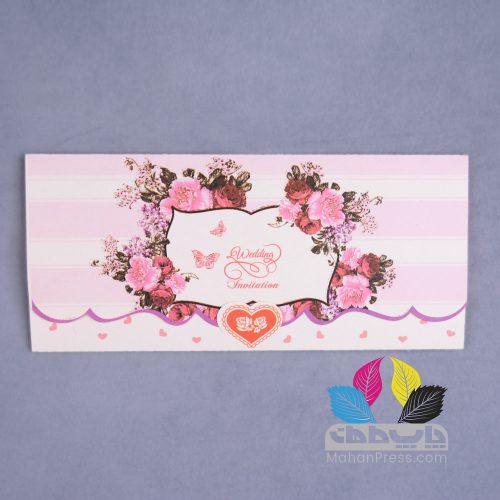 کارت عروسی کد 755 - چاپخانه ماهان