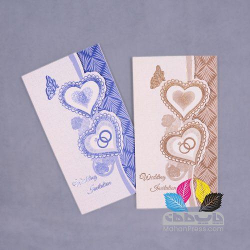 کارت عروسی کد 166 - چاپخانه ماهان