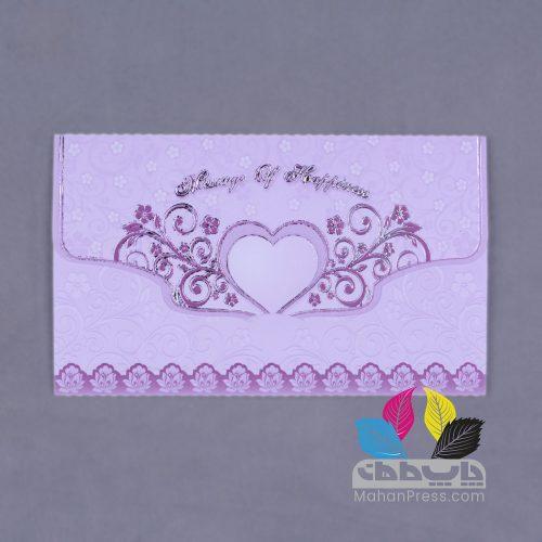 کارت عروسی کد 093 - چاپخانه ماهان