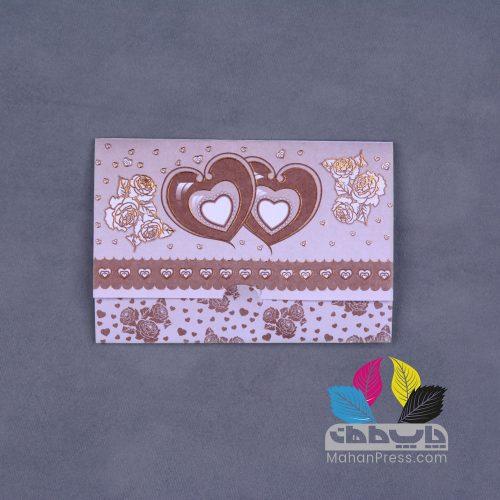 کارت عروسی کد 415 - چاپخانه ماهان