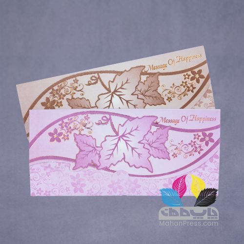 کارت عروسی کد 419 - چاپخانه ماهان
