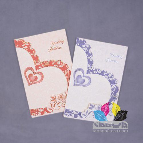کارت عروسی کد 140 - چاپخانه ماهان
