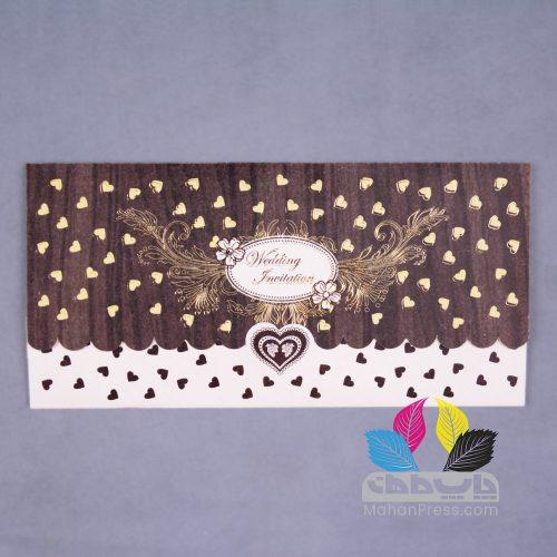 کارت عروسی کد 215 - چاپخانه ماهان