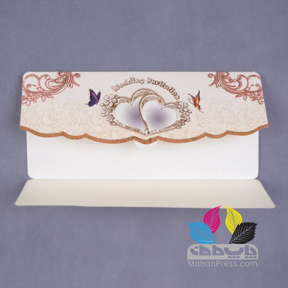 کارت عروسی کد 152 - چاپخانه ماهان