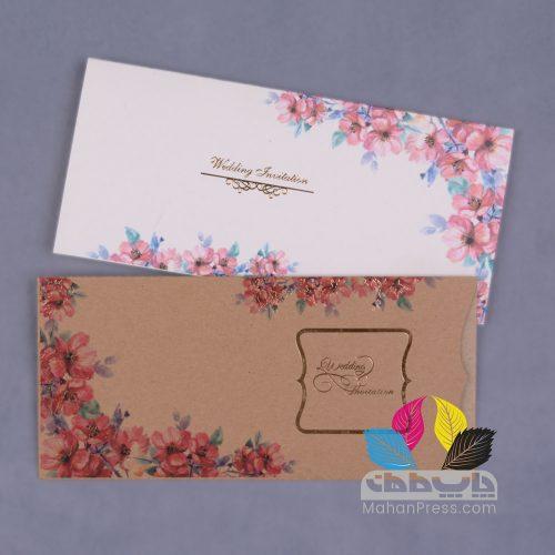کارت عروسی کد 766 - چاپخانه ماهان