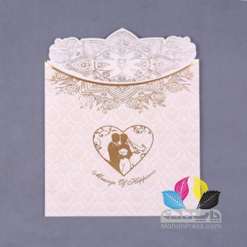 کارت عروسی کد 202 - چاپخانه ماهان