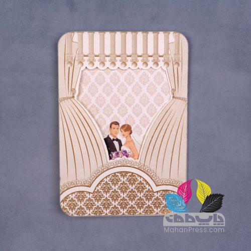 کارت عروسی کد 621 - چاپخانه ماهان