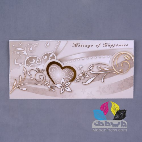 کارت عروسی کد 189 - چاپخانه ماهان