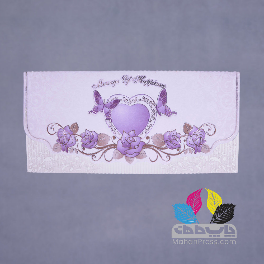 کارت عروسی کد 092 - چاپخانه ماهان