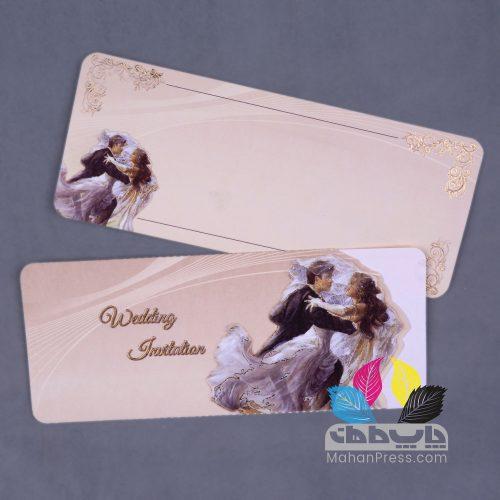 کارت عروسی کد 115 - چاپخانه ماهان