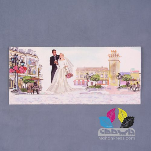 کارت عروسی کد 510 - چاپخانه ماهان