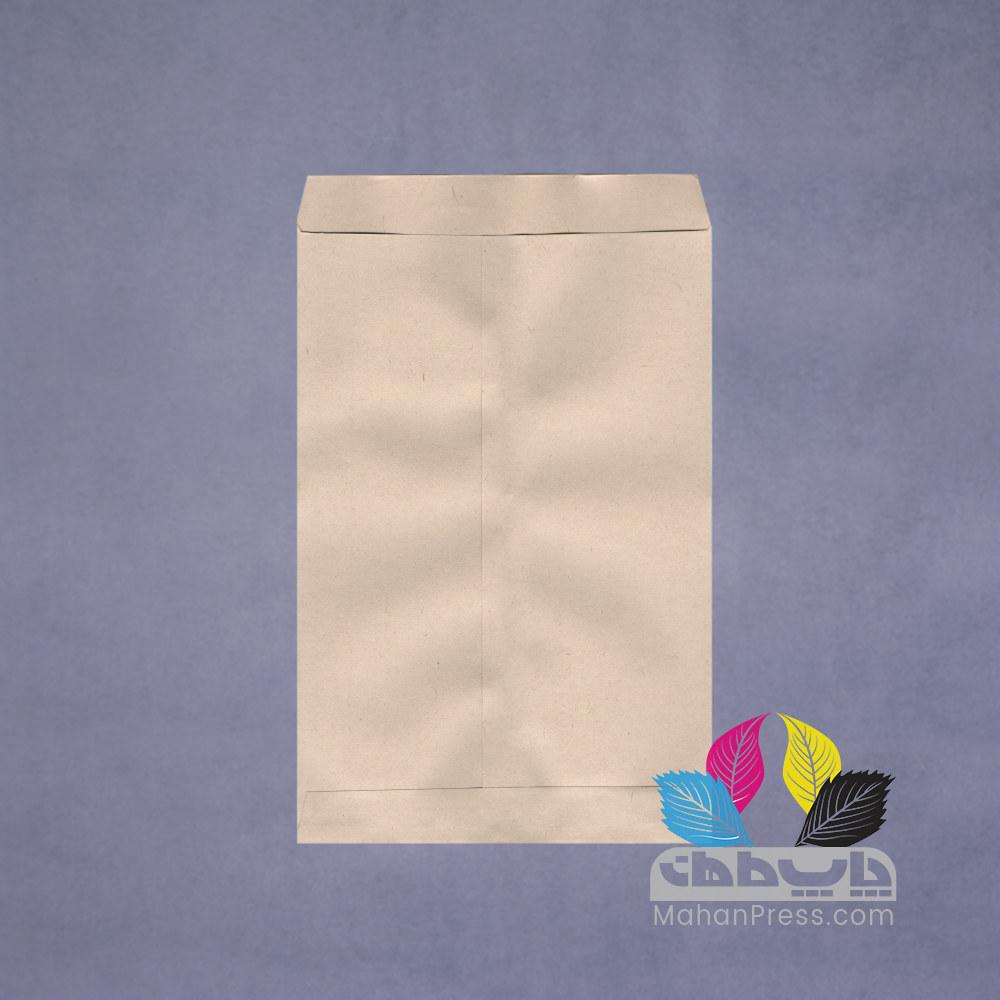 پاکت اداری کاغذی نخودی در ابعاد a4 a5 a3 b4- چاپخانه ماهان - ماهان پرس