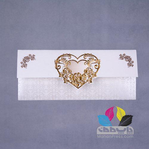 کارت عروسی کد 505 - چاپخانه ماهان