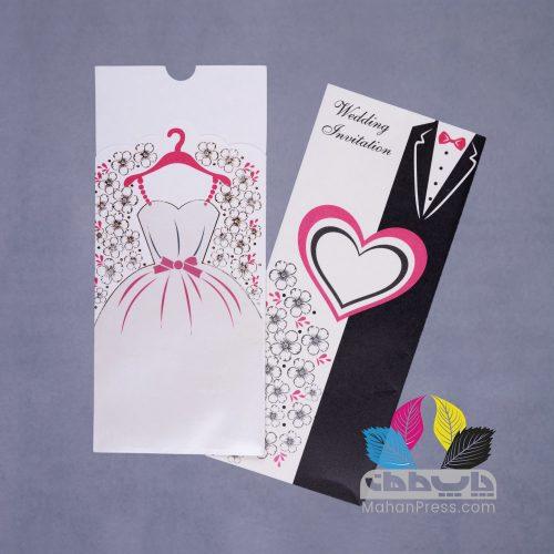 کارت عروسی کد 930 - چاپخانه ماهان