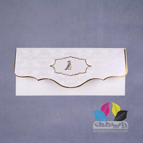کارت عروسی کد 492 - چاپخانه ماهان