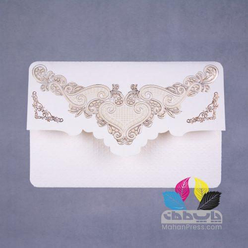 کارت عروسی کد 503 - چاپخانه ماهان